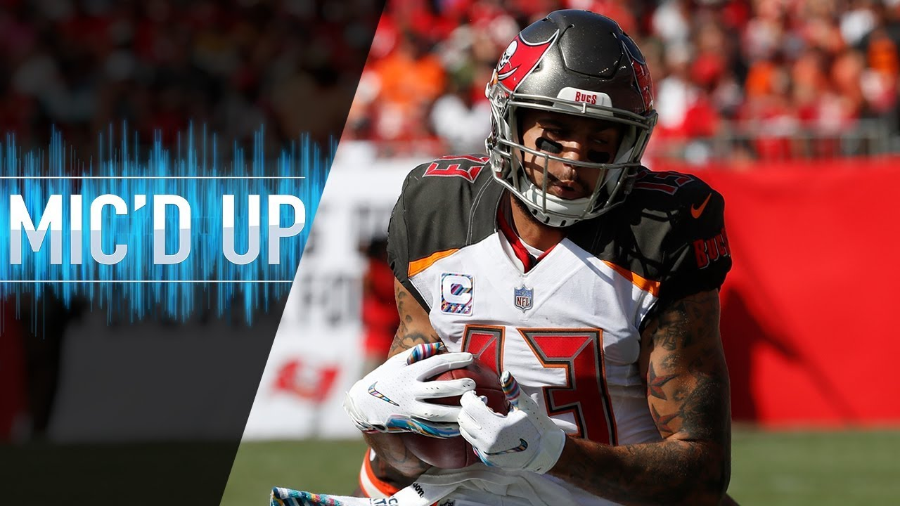 """Mike Evans Mic'd Up vs. Browns """"I Launched Him"""" 