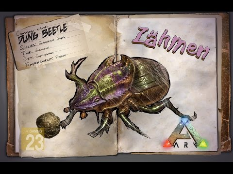ARK‬: Survival Evolved [GUIDE/Deutsch] ** Dung Beetle - Mistkäfer zähmen **
