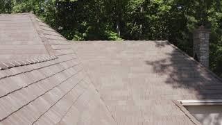 DaVinci Bellaforte Shake - Lindenhurst, installed by CRC Cedar Roofing Company