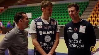 Auramat® Intervista Dinamo Basket con i Giganti