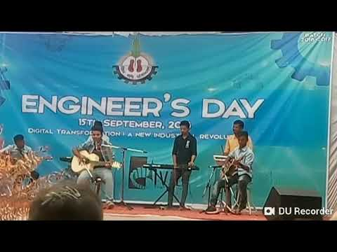 Hum kis gali jaa rahe h & mehbooba. #by our group #atif_aslam  #Engineers day 2k18  #Xps30#xps10#20x
