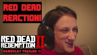 RED DEAD REACTION!! (RED DEAD REDEMPTION II GAMEPLAY)