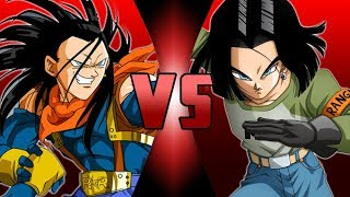 Super 17 VS Android 17 (Dragon Ball Super) thumbnail