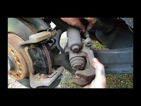 How to release electronic parking brakes (2012 Tiguan)