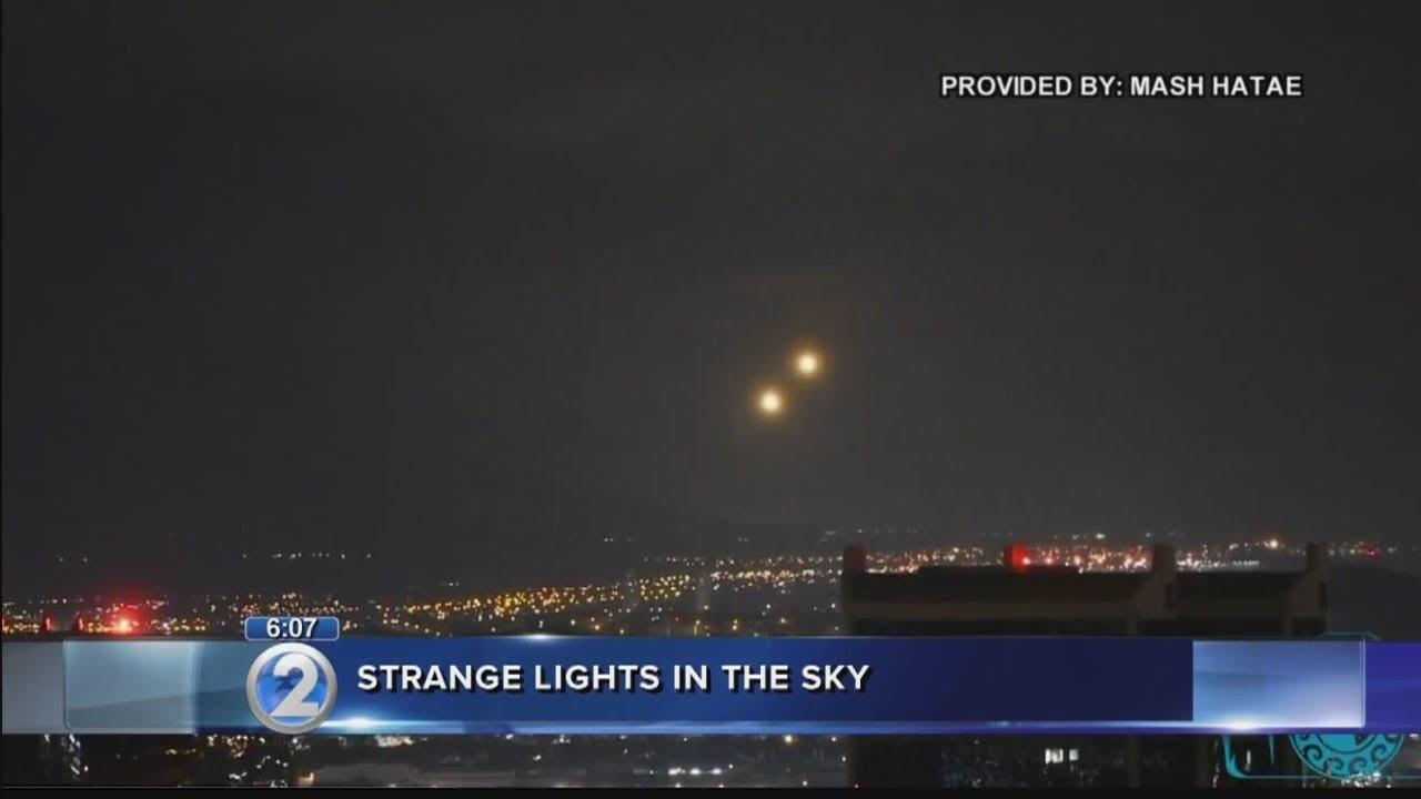 Caught on camera: Strange lights spotted floating over Oahu