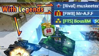 Tanki Online birthday 2018 hunting golds with legends