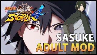 Naruto Ninja Storm 4, Novo Mod Sasuke Adulto Wandering Ninja/ MUITO APELÃO!!! - Nillo21.