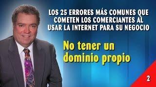 Error 02 - No Tener Un Dominio Propio