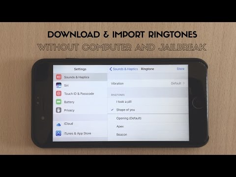 How to Download And Import Ringtones on iPhone Without PC | No Jailbreak | May2017 | English | Hindi