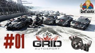 Grid Autosport - Gameplay ITA - Logitech G27 - #01 Inizia la carriera
