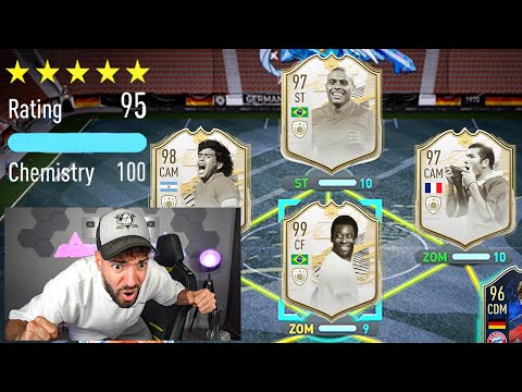 REKORD START!! 195 RATED FUT DRAFT CHALLENGE FIFA 21