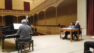 "José Carreras-Masterclass 1/2017, tenore Rossen Nentchev-""Kuda kuda...""Lenski"