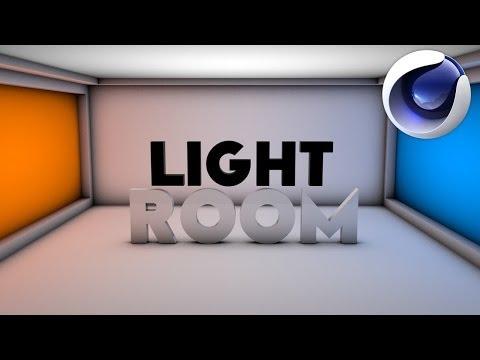 Create A Sexy Light Room (No Plugins) | Cinema 4D Tutorial
