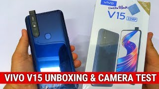 Vivo V15 Unboxing & First Look - 32MP Selfie, Pop Up Camera