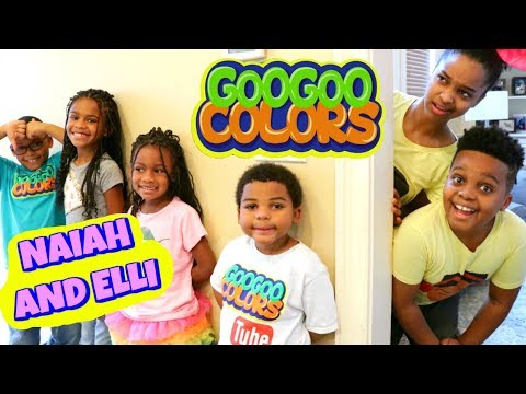 EPIC HIDE AND SEEK with Naiah and Elli Toys Show and Goo Goo Colors - Onyx Kids