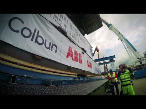 Time-lapse: Bolloré Logistics Achieves World First Heavy-lift Transport on American Continent