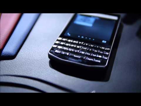 BlackBerry Porsche Design P'9983 demo