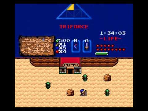 Zelda Classic - Link's Big Swamp Adventure - 04 - Sneaking Into The Desert