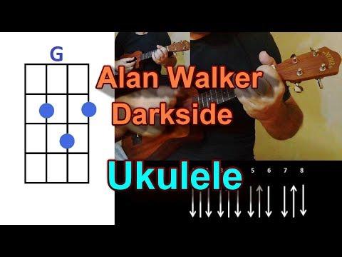 Alan Walker Darkside featAuRa and Tomine Harket Ukulele Cover