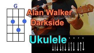 Alan Walker Darkside feat  AuRa and Tomine Harket Ukulele Cover