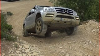 Mercedes-Benz GL 350 offroad in Langenaltheim