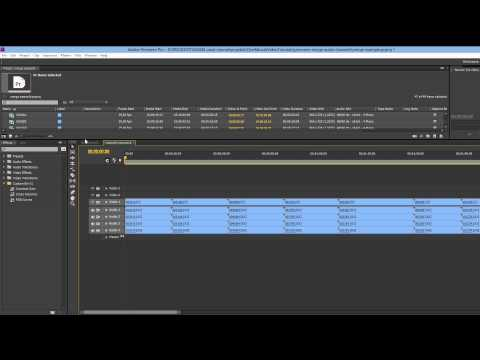premiere merge multiple audio channels into one channel