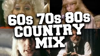 Country Music from the 60s 70s and 80s Mix 🌵 Classic Country Songs from the '60s '70s & '80s