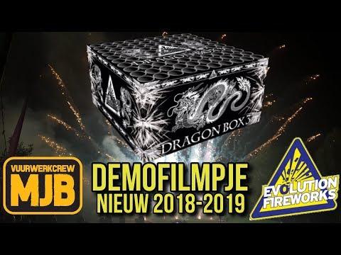 Vuurwerk Evolution Fireworks *NIEUW 2018-2019* DRAGON BOX 3 DEMOFILMPJE