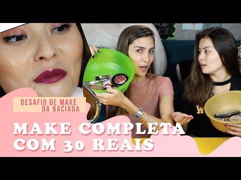 DESAFIO DE MAKE DA BACIADA   feat. COOL MARINA