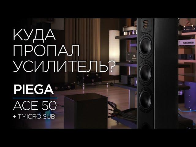 Швейцарская акустика Piega Ace 50 и её железные друзья