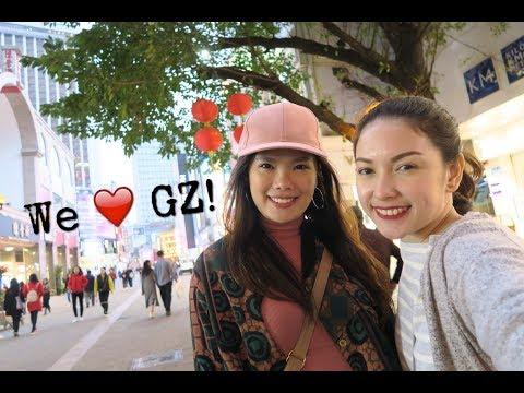 GUANGZHOU, CHINA Part 1 - KareNen Travel Vlog with Shary