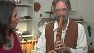 Interview with Werner John, flute-maker, musician
