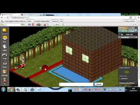 Tu casa exterior en habbo parte 2 final youtube for Como hacer una casa en habbo