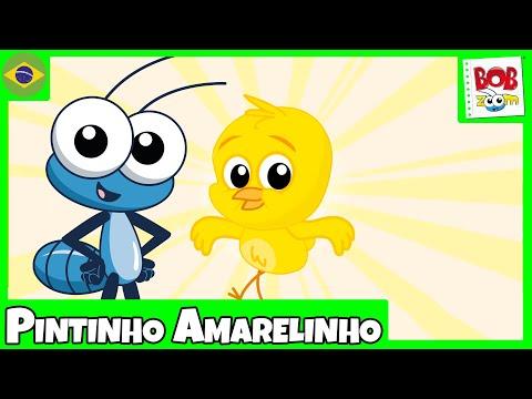 Pintinho Amarelinho - Bob Zoom - Vídeo Musical Infantil