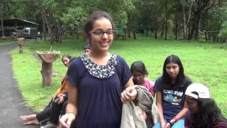 11th Standard Students of Isha Home School visit Parambikulam Tiger Reserve in Kerala in June 2013.