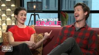 Exclusive Interview: Anders Holm and Alison Brie Talk How To Be Single [HD]