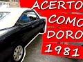 REGULAGEM MOTOR, COMPRESSÃO - OPALA COMODORO 1981