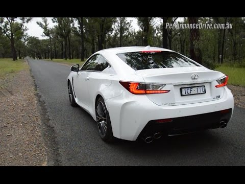 2015 Lexus RC F 0-100km/h & engine sound