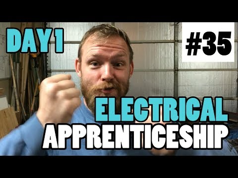 Episode 35 - Day 1 of Your Electrical Career - How To Be A Great Apprentice