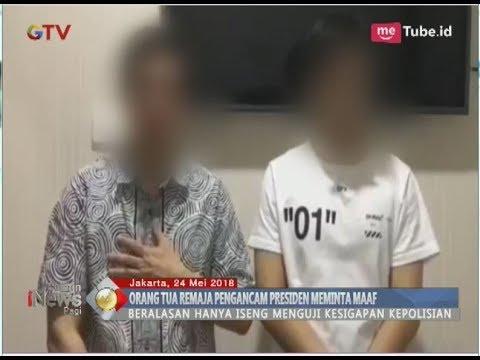 Permohonan Maaf Ayah Remaja yang Hina dan Ancam Membunuh Jokowi - BIP 25/05