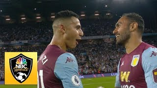 Villa Park celebrates after first Premier League win since '16 | NBC Sports