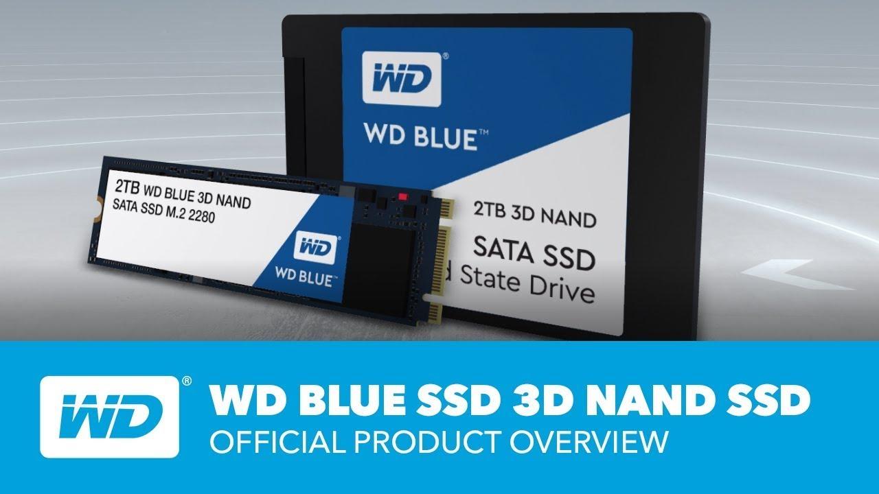 Disqu Dur Western Digital SSD WD Blue 4 To 1 GearUp pc gamer maroc