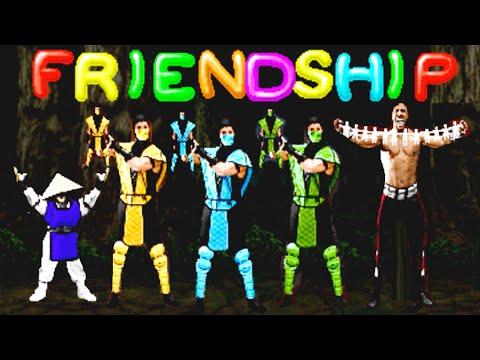 Mortal Kombat II All Friendships Arcade