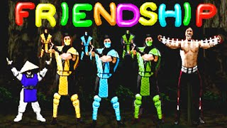 Mortal Kombat II All Friendships Arcade
