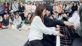 둘이서 치는 미친 피아노 연주 ㄷㄷ
