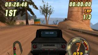 Hummer Badlands (PS2 Gameplay)