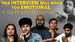 If you're a Kota Factory Fan this EXCLUSIVE TEAM INTERVIEW will make you EMOTIONAL | TVF | Netflix