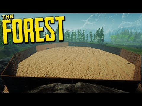 BUILDING A WALL AROUND THE SINK HOLE? - The Forest Creative