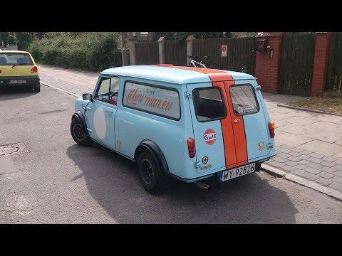 Classic Mini Clubman Estate Gdańsk 27082015 Nowotarska24com Youtube