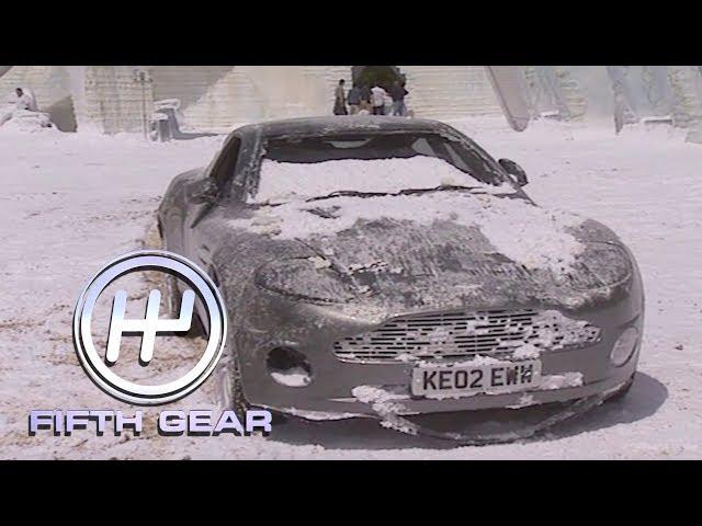 Behind the scenes of James Bond's Aston Martin stunts   Fifth Gear Classic